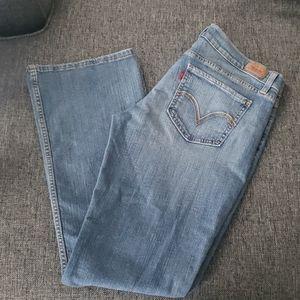 Levis jeans size 13 m 524 too super low
